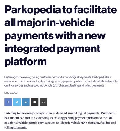 Automotive World - Payment Platform Coverage