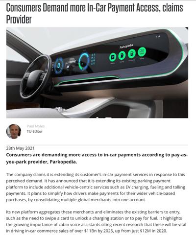Tu Automotive - Payment Platform Coverage