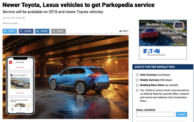 Automotive News - TMNA Coverage