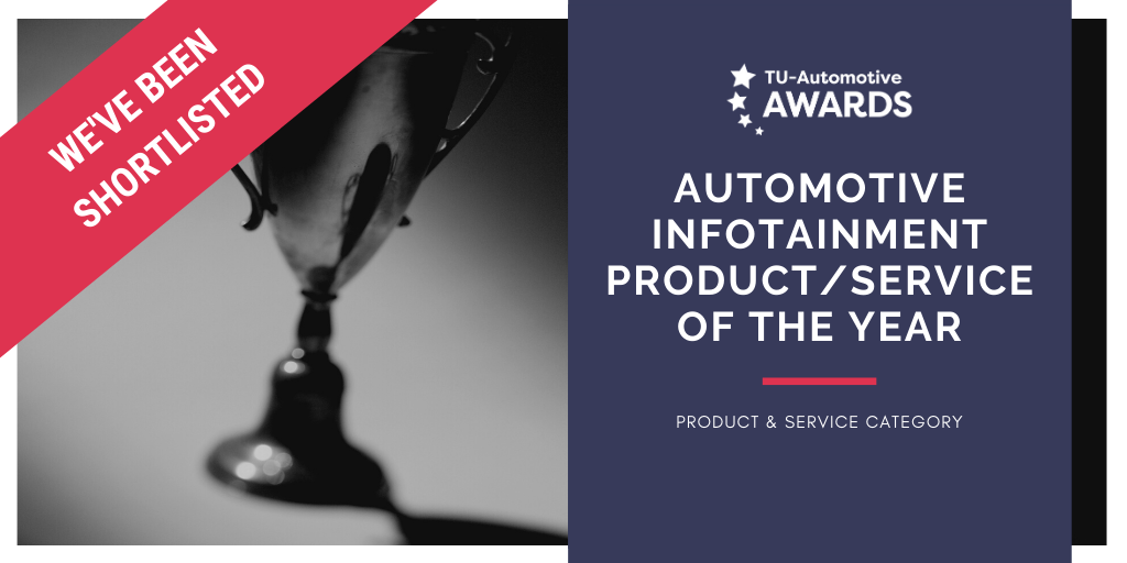 TU Auto 2020 Award finalist_Infotainment